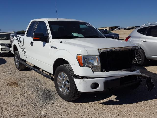 Salvage cars for sale from Copart San Antonio, TX: 2012 Ford F150 Super