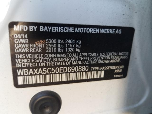 2014 BMW 535 D WBAXA5C50ED690880