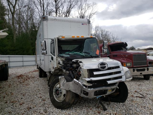 Salvage cars for sale from Copart West Warren, MA: 2013 Hino 258 268