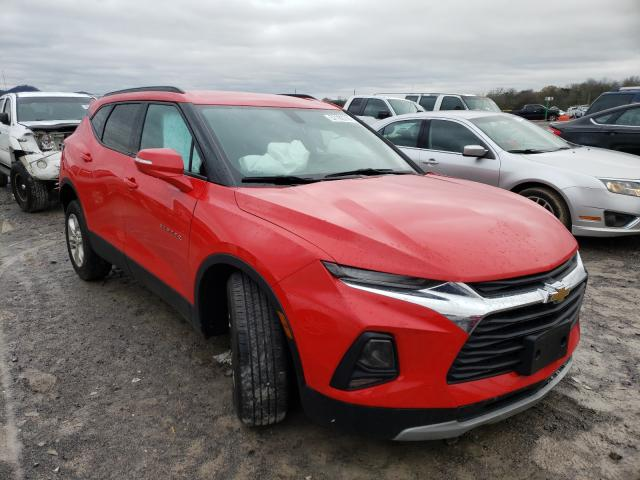 Chevrolet Blazer 2LT salvage cars for sale: 2019 Chevrolet Blazer 2LT