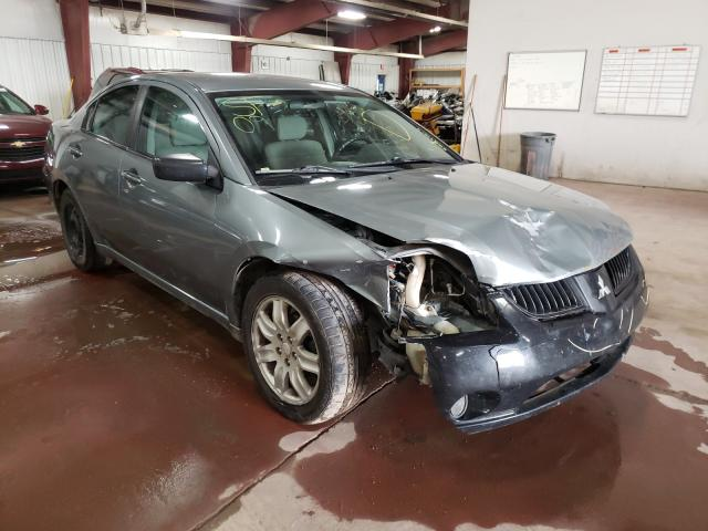 Salvage cars for sale from Copart Lansing, MI: 2009 Mitsubishi Galant ES