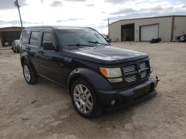 Salvage cars for sale from Copart Temple, TX: 2009 Dodge Nitro R/T