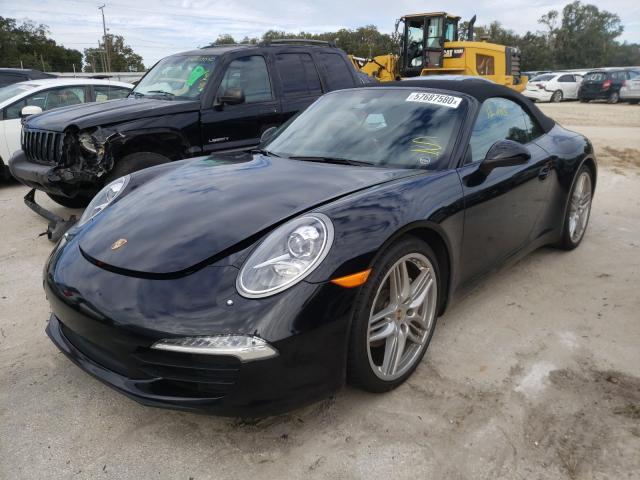 из сша 2013 Porsche 911 Carrer 3.4L WP0CA2A98DS140293