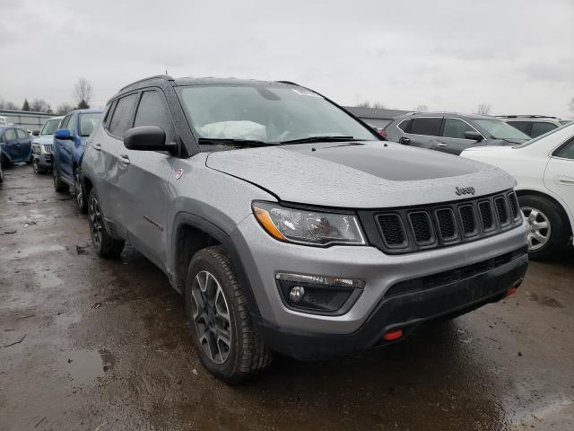 Salvage cars for sale from Copart Columbia Station, OH: 2020 Jeep Compass TR