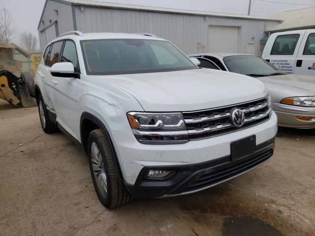 Salvage cars for sale from Copart Pekin, IL: 2019 Volkswagen Atlas SE