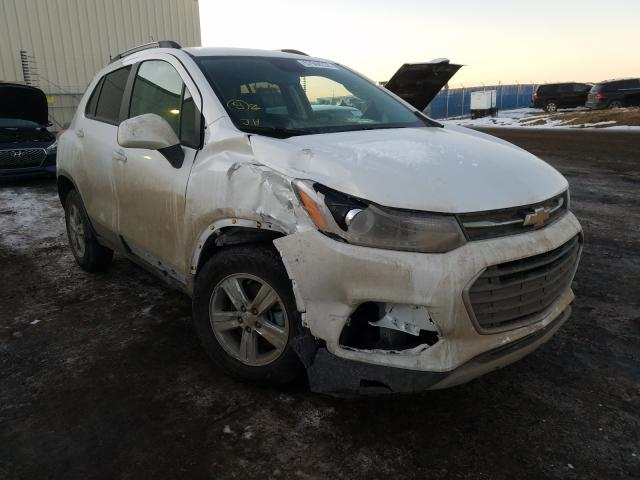 Chevrolet salvage cars for sale: 2021 Chevrolet Trax 1LT
