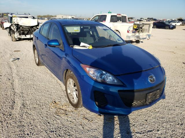Salvage cars for sale from Copart San Antonio, TX: 2012 Mazda 3 I