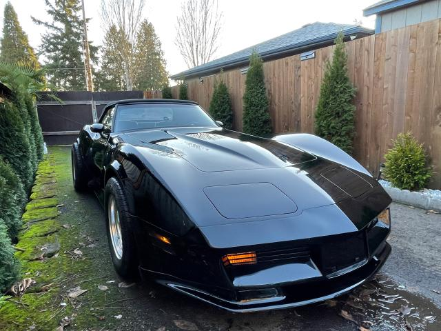 Salvage cars for sale from Copart Portland, OR: 1982 Chevrolet Corvette