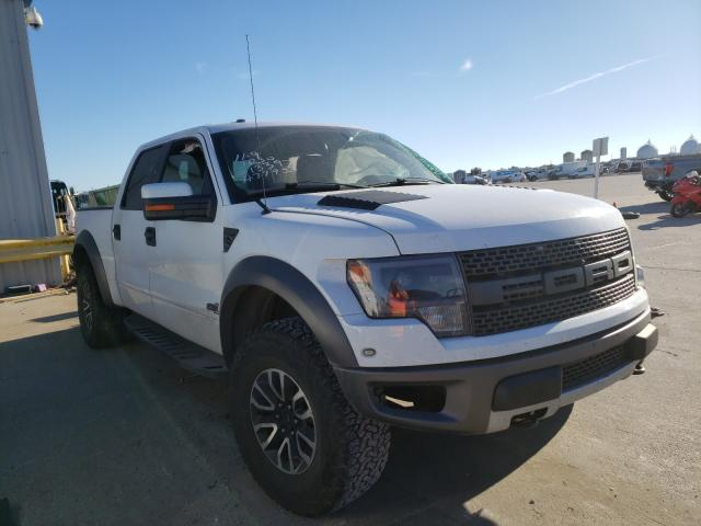 Ford F150 SVT R salvage cars for sale: 2013 Ford F150 SVT R