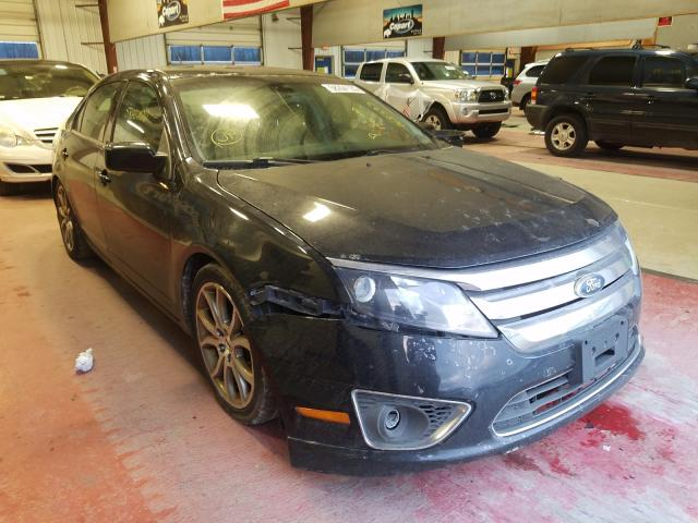 Salvage cars for sale from Copart Angola, NY: 2012 Ford Fusion SEL