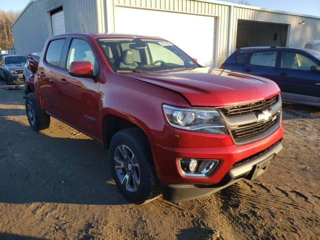 Salvage cars for sale from Copart Hampton, VA: 2016 Chevrolet Colorado Z