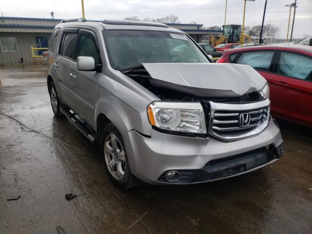 Honda Pilot EXL salvage cars for sale: 2012 Honda Pilot EXL