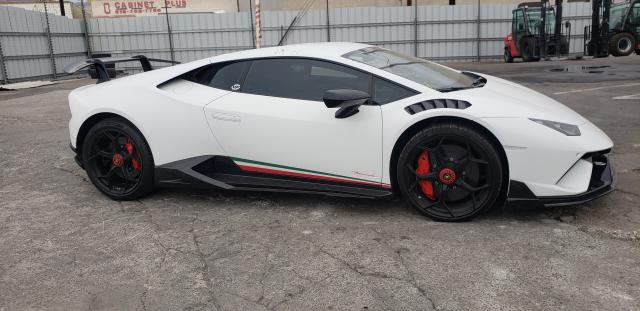 Lamborghini salvage cars for sale: 2019 Lamborghini Huracan PE