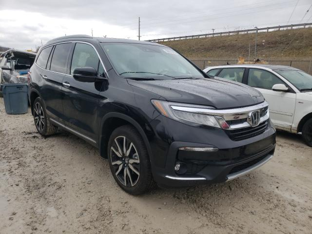 Salvage cars for sale from Copart Northfield, OH: 2021 Honda Pilot Elit
