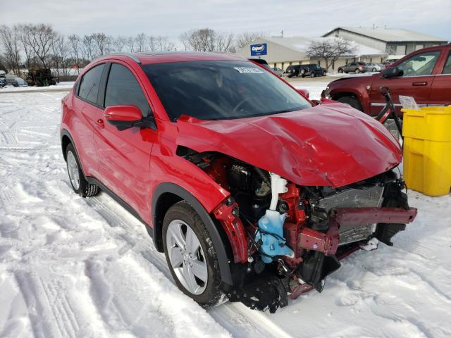 Salvage cars for sale from Copart Madison, WI: 2020 Honda HR-V EX