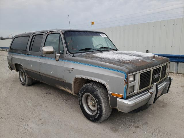 Salvage cars for sale from Copart Rogersville, MO: 1988 GMC Suburban R