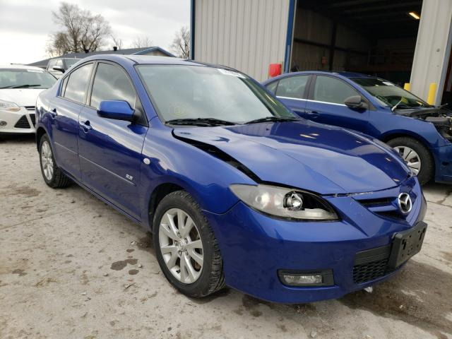 Mazda 3 S salvage cars for sale: 2008 Mazda 3 S