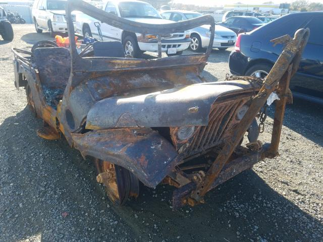 WIL salvage cars for sale: 1953 WIL JEE