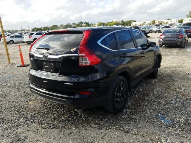 цена в сша 2016 Honda Cr-V Se 2.4L 2HKRM3H46GH530880