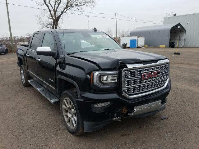 Salvage cars for sale from Copart Montreal Est, QC: 2016 GMC Sierra K15