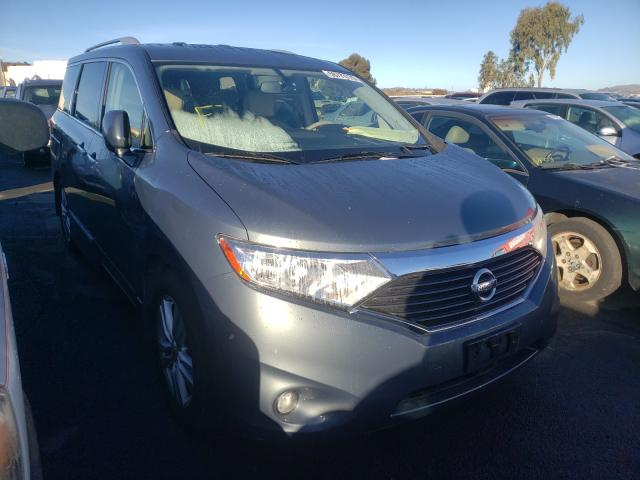 Nissan salvage cars for sale: 2013 Nissan Quest S