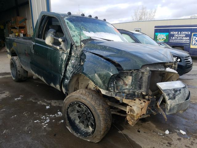 Salvage cars for sale from Copart Duryea, PA: 2002 Ford F350 SRW S