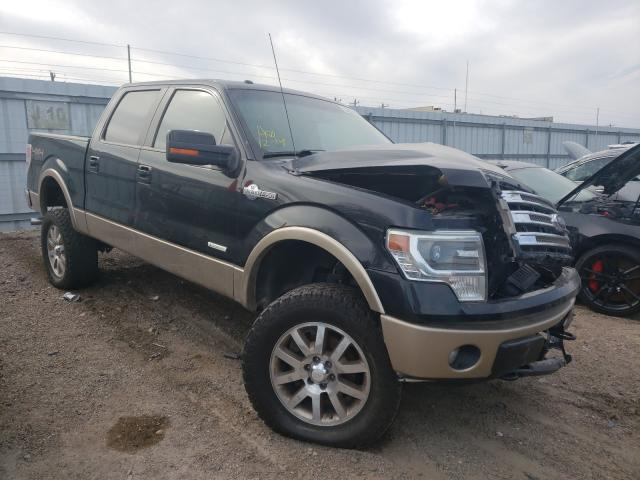 Salvage cars for sale from Copart Mercedes, TX: 2014 Ford F150 Super