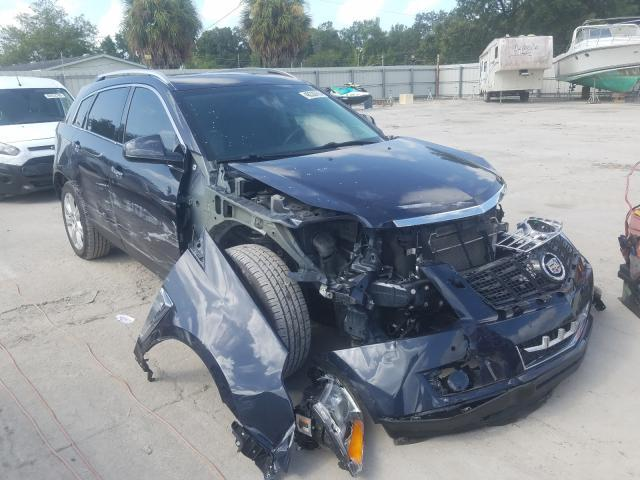 Salvage cars for sale from Copart Punta Gorda, FL: 2014 Cadillac SRX Perfor