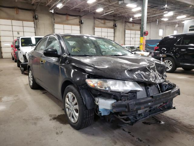 Salvage cars for sale from Copart Blaine, MN: 2010 KIA Forte LX