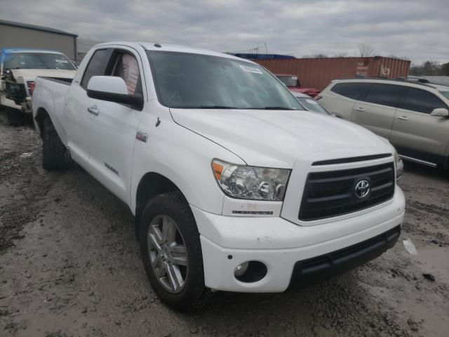 Salvage cars for sale from Copart Hueytown, AL: 2011 Toyota Tundra DOU