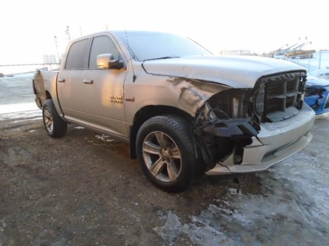 Salvage cars for sale from Copart Nisku, AB: 2015 Dodge RAM 1500 Sport