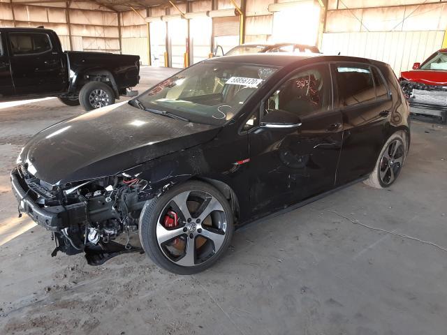 из сша 2019 Volkswagen Gti S 2.0L 3VW6T7AU6KM015563