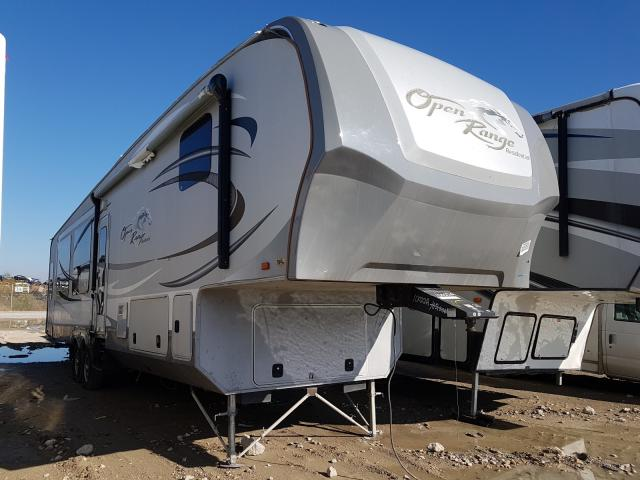Open Road salvage cars for sale: 2012 Open Road Light RV