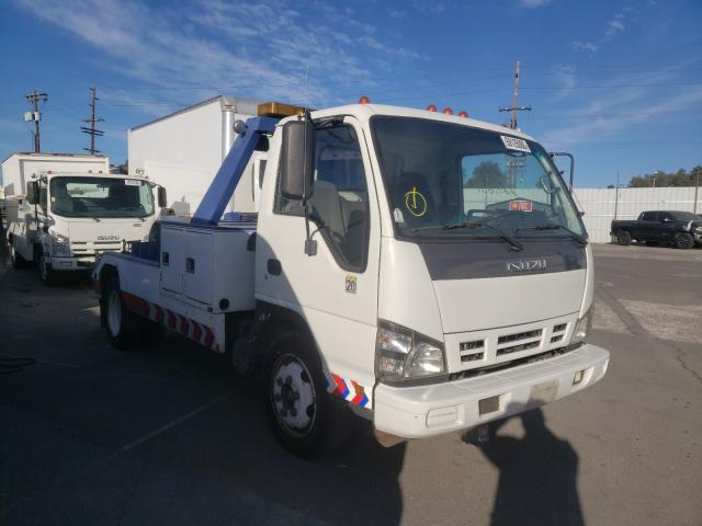 Isuzu salvage cars for sale: 2007 Isuzu NQR