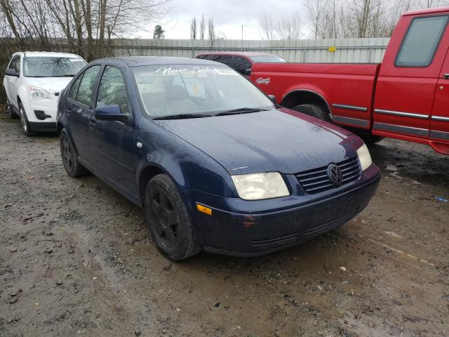 Salvage cars for sale from Copart Arlington, WA: 2002 Volkswagen Jetta GLS