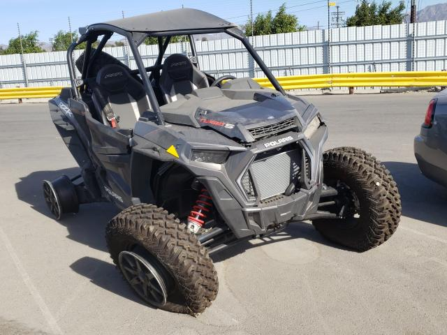 Salvage cars for sale from Copart Sun Valley, CA: 2019 Polaris RZR XP Turbo