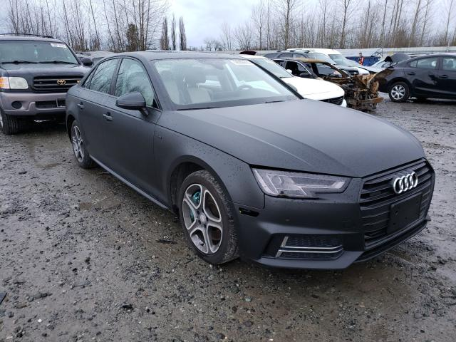 Salvage cars for sale from Copart Arlington, WA: 2017 Audi A4 Premium