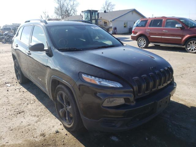 Salvage cars for sale from Copart Sikeston, MO: 2016 Jeep Cherokee S