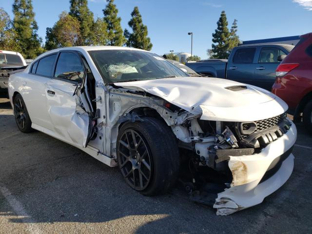 Salvage cars for sale from Copart Rancho Cucamonga, CA: 2019 Dodge Charger SC
