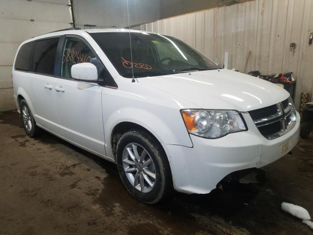 Salvage cars for sale from Copart Lyman, ME: 2019 Dodge Grand Caravan