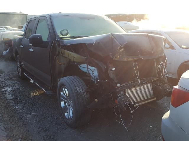 Salvage cars for sale from Copart Hueytown, AL: 2018 Ford F150 Super