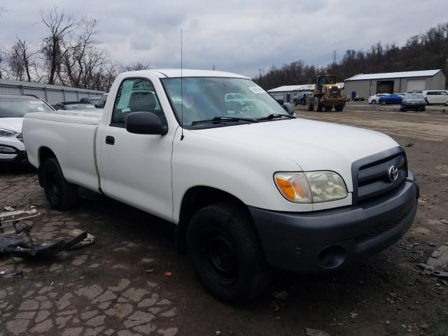 Salvage cars for sale from Copart West Mifflin, PA: 2006 Toyota Tundra