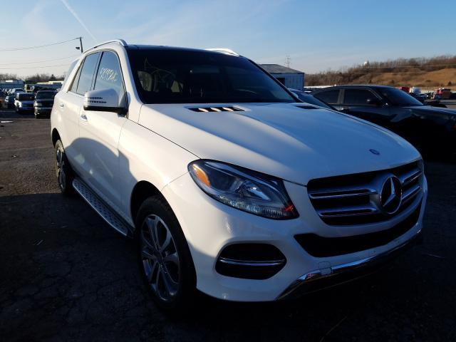 Mercedes-Benz salvage cars for sale: 2016 Mercedes-Benz GLE 350 4M