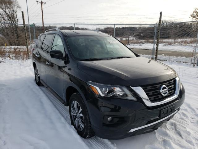 Salvage cars for sale from Copart Madison, WI: 2019 Nissan Pathfinder
