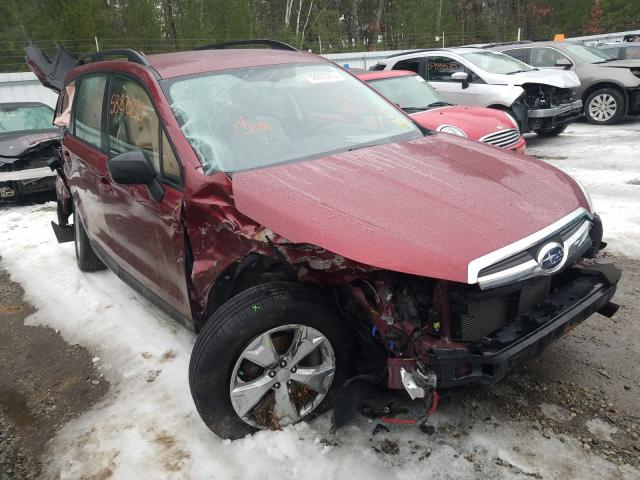 Salvage cars for sale from Copart Lyman, ME: 2016 Subaru Forester 2