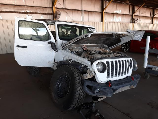 Salvage SUVs for sale at auction: 2018 Jeep Wrangler R