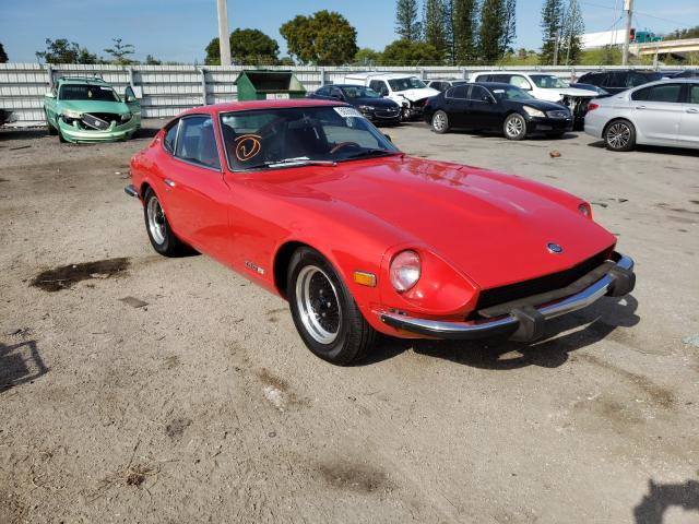 Datsun 260Z salvage cars for sale: 1974 Datsun 260Z
