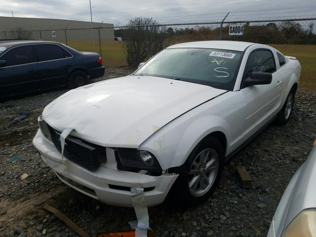 Salvage cars for sale from Copart Tifton, GA: 2008 Ford Mustang