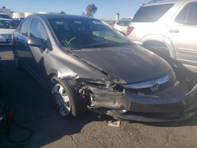 Salvage cars for sale from Copart Martinez, CA: 2009 Honda Civic LX