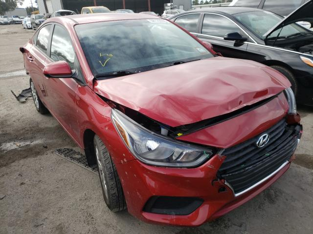 Salvage cars for sale from Copart Riverview, FL: 2018 Hyundai Accent SE
